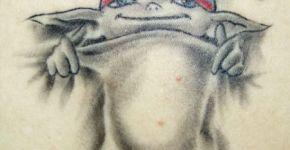 Tatuaje de un gnomo
