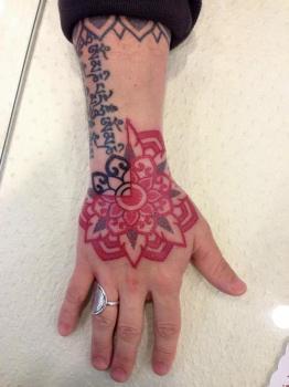 Dotwork tattoo by Marco Galdo