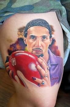 The Big Lebowski tatuaje