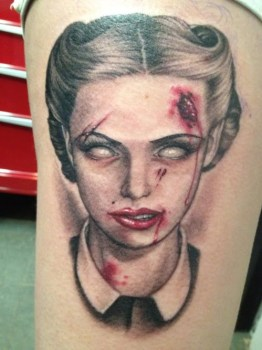 Melissa Valiquette tattoos