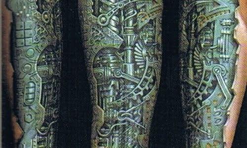 Biomechanical tattoo by Anil Gupta