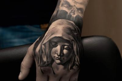 Pieta tattoo