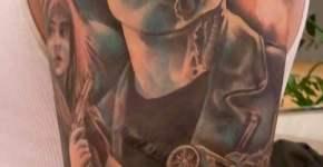 Terminator tattoo