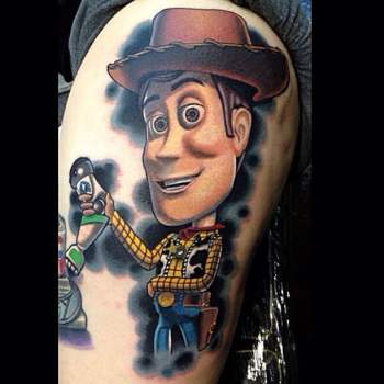 Tatuajes Toy Story