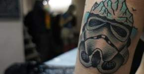Tatuaje Iceberg Star Wars