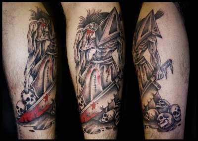 Tatuaje de Pyramid Head