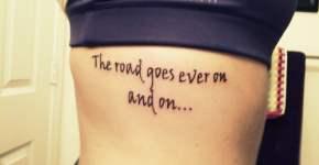 Tatuaje de frase para mujeres
