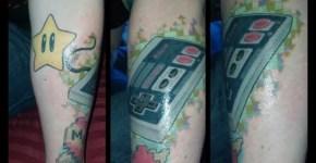 Tatuajes de Nintendo