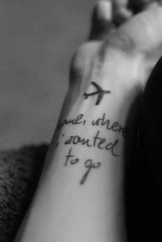 Tatuaje Home where I wanted to go