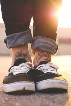 Tatuaje Stay Gold