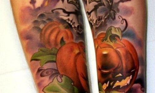 Tatuajes de calabazas para Halloween