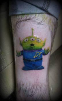 Tatuaje de Toy Story