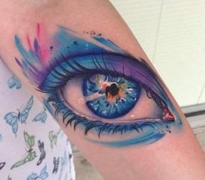 Tatuaje de ojo
