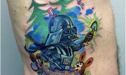 Tatuaje Darth Vader