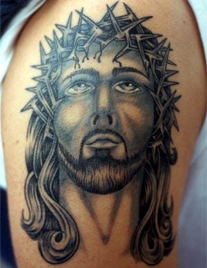 Tatuaje Jesucristo espinas