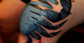 Tatuaje cangrejo
