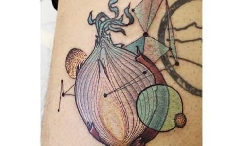 Tatuaje cebolla