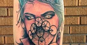 Tatuaje diosa maligna