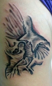 Tatuaje fósil