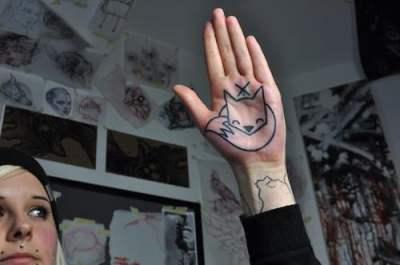 Tatuaje zorrillo