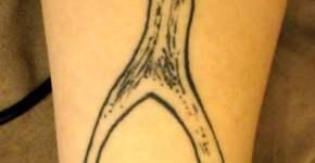 Tatuaje cuerno