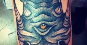 Tatuaje rinoceronte mutante