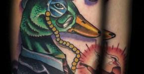 Tatuaje pato