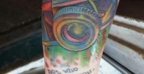 Tatuaje cámara