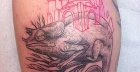 Tatuaje camaleón