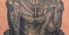 Tatuaje diosa
