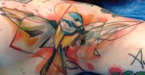 Tatuaje herrerillo