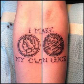 Tatuaje moneda