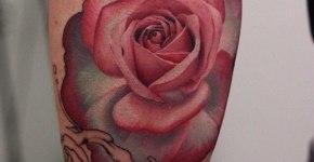 Tatuaje rosa