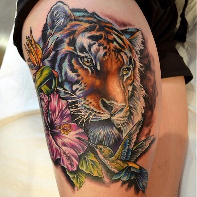 Tatuaje De Tigre Tatuajesxd