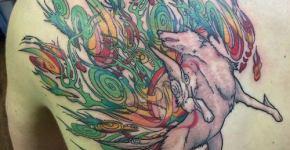 Tatuaje Kitsune