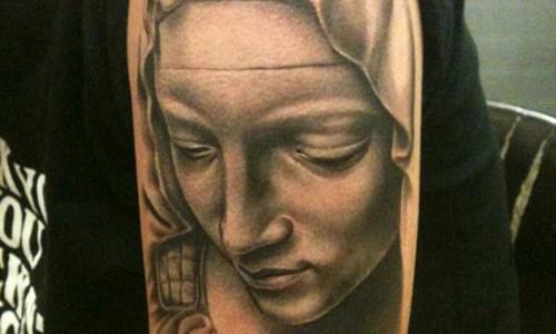 Tatuaje Virgen Maria
