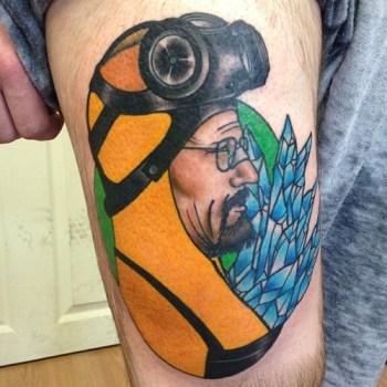 Tatuaje Walter White