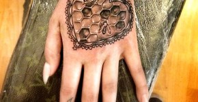 Tatuaje panal
