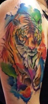 Tatuaje De Tigre De Bengala Tatuajesxd