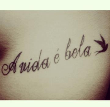 Frase En La Costilla Tatuajesxd