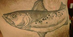 Tatuaje salmón