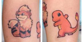 Tatuaje Pokémon