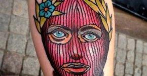Tatuaje Pussy Riot