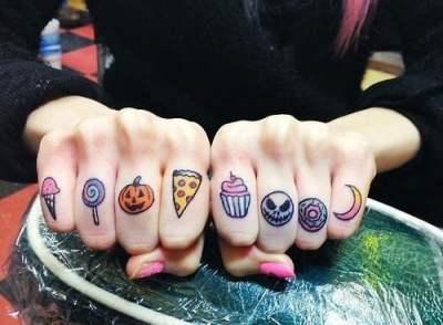 Tatuaje dulces
