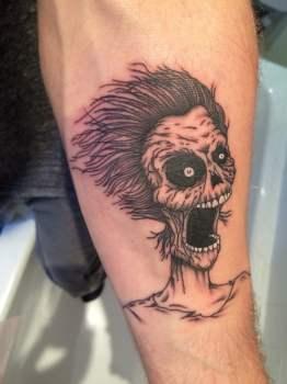 Tatuaje Zombie