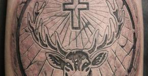 Tatuaje estela de piedra