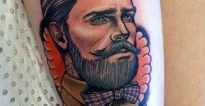 Tatuaje hipster
