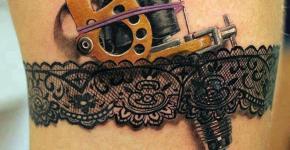 Tatuaje máquina de tatuar