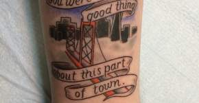 Tatuaje de Fall Out Boy