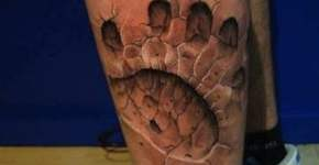 Tatuaje pata de oso
